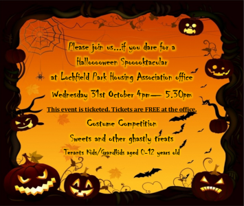 Halloween Spooktacular Party