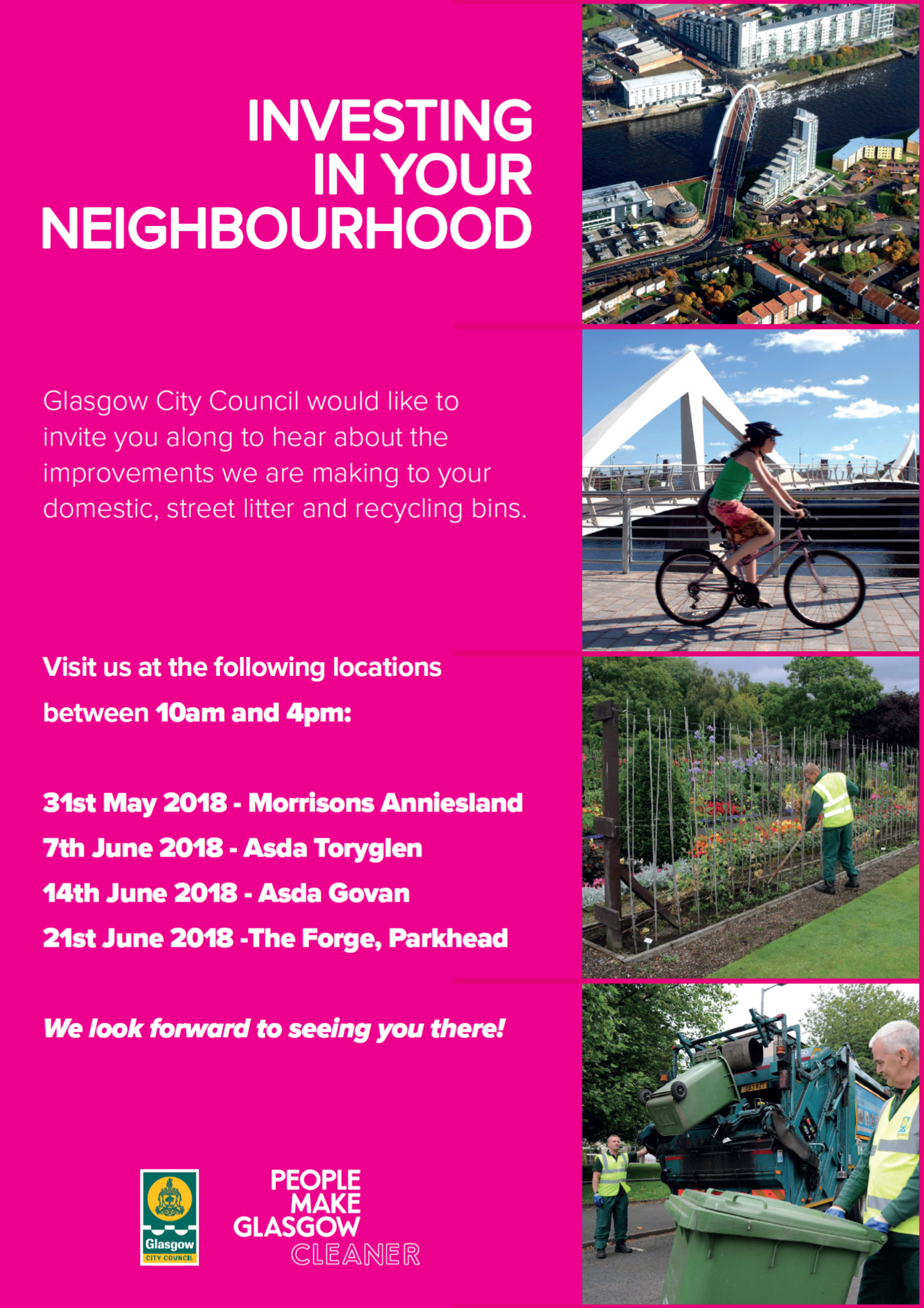 GCC Investing In Your Neighbourhood Poster